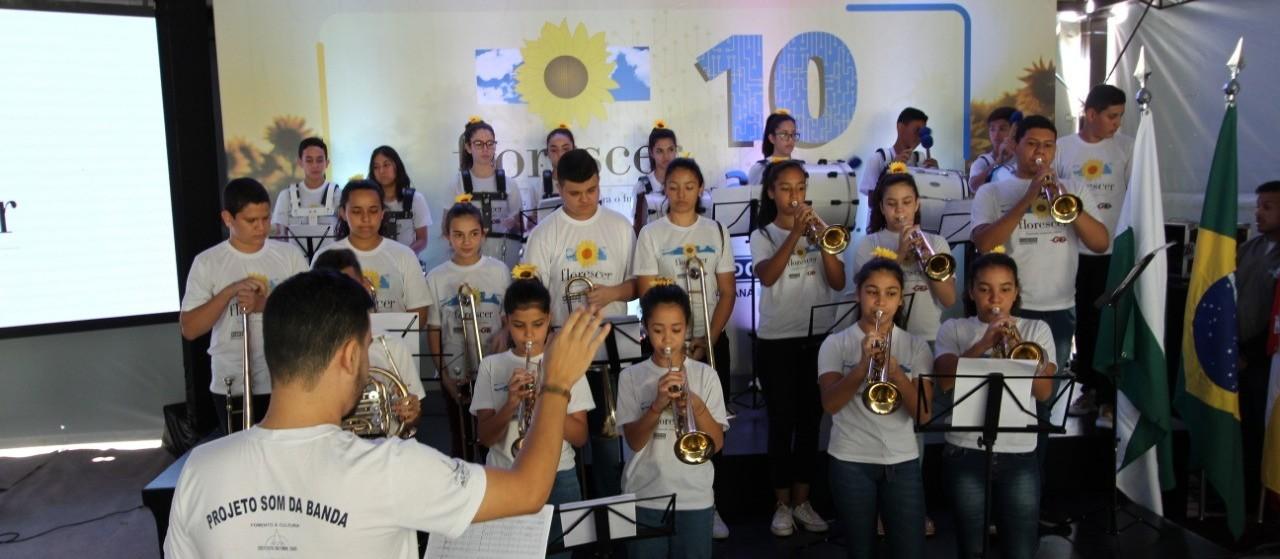 Projeto Florescer completa 10 anos com mostra cultural tecnológica