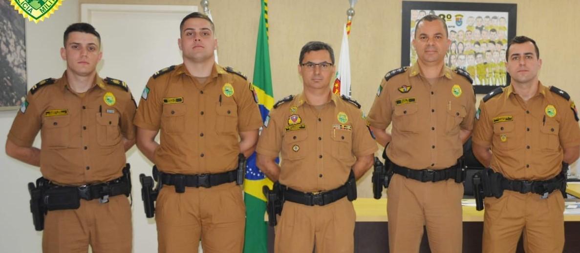 Aspirante e dois cadetes reforçam o 4º Batalhão da PM