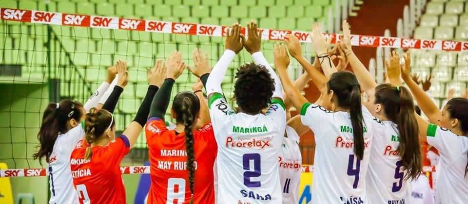 Amavolei perde a primeira na Superliga B