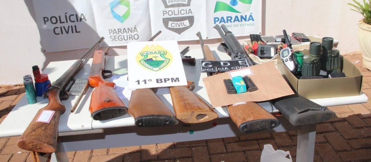13 são presos em operação de combate ao roubo de cargas