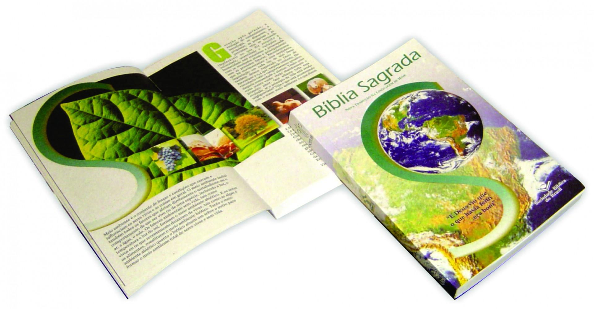 Ecobíblia é produzida no Brasil