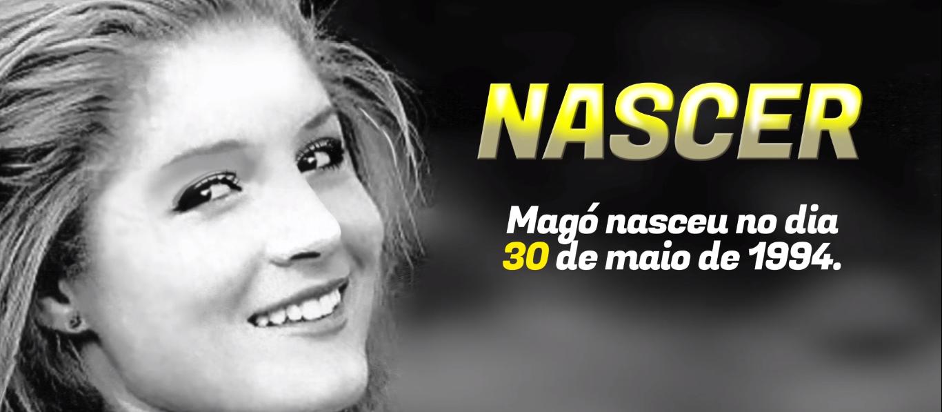Homenagem a Magó no dia em que bailarina faria 26 anos