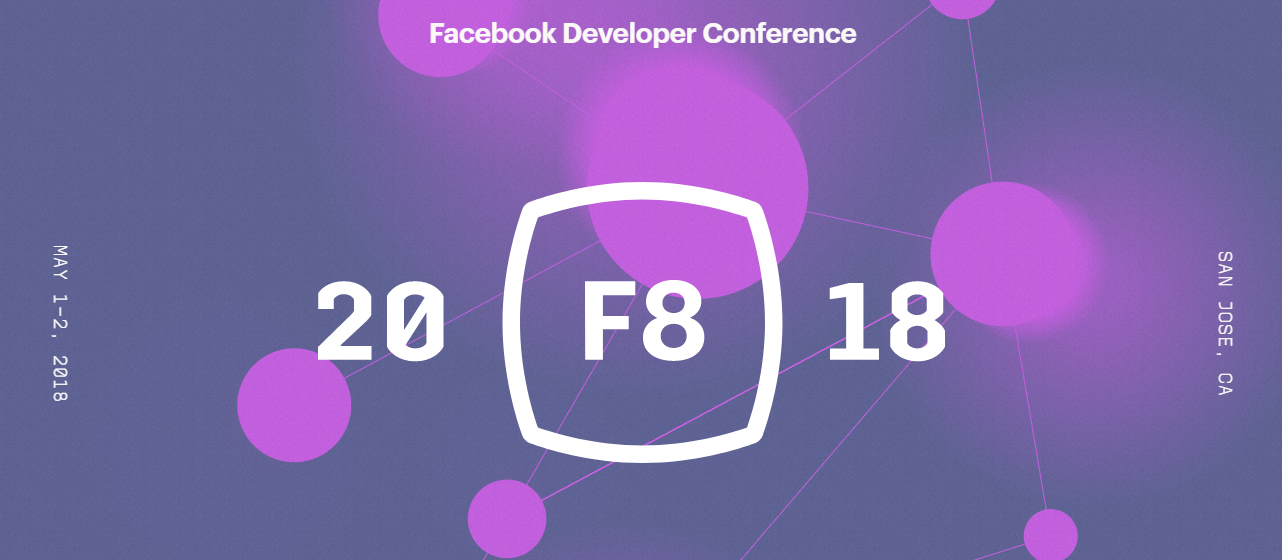 F8, conferência do Facebook, está sendo realizada esta semana na Califórnia