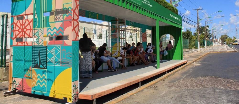 Projeto prevê pontos de ônibus mais sustentáveis e rentáveis