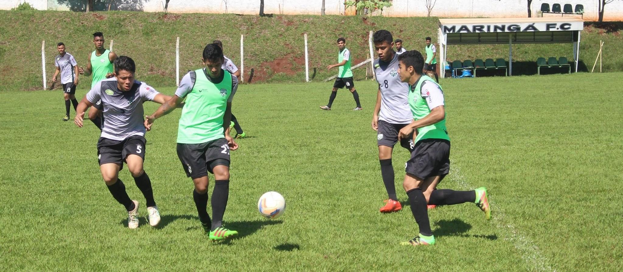 Maringá FC faz amistoso de olho no Paranaense 2018