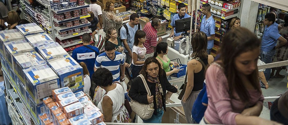 Confiança do Comércio sobe 1,3 ponto em janeiro ante dezembro, revela FGV