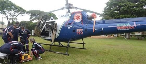 Hospitais de Maringá não têm heliponto para serviço aeromédico