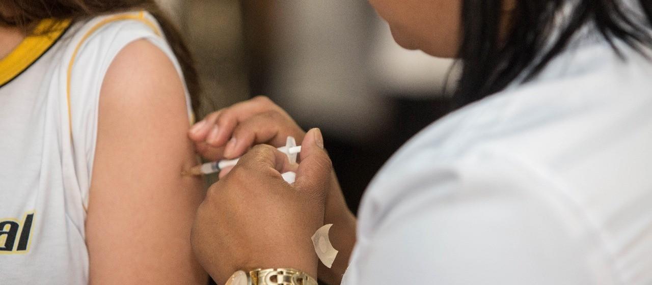 Cobertura vacinal é menor em crianças de seis meses a cinco anos