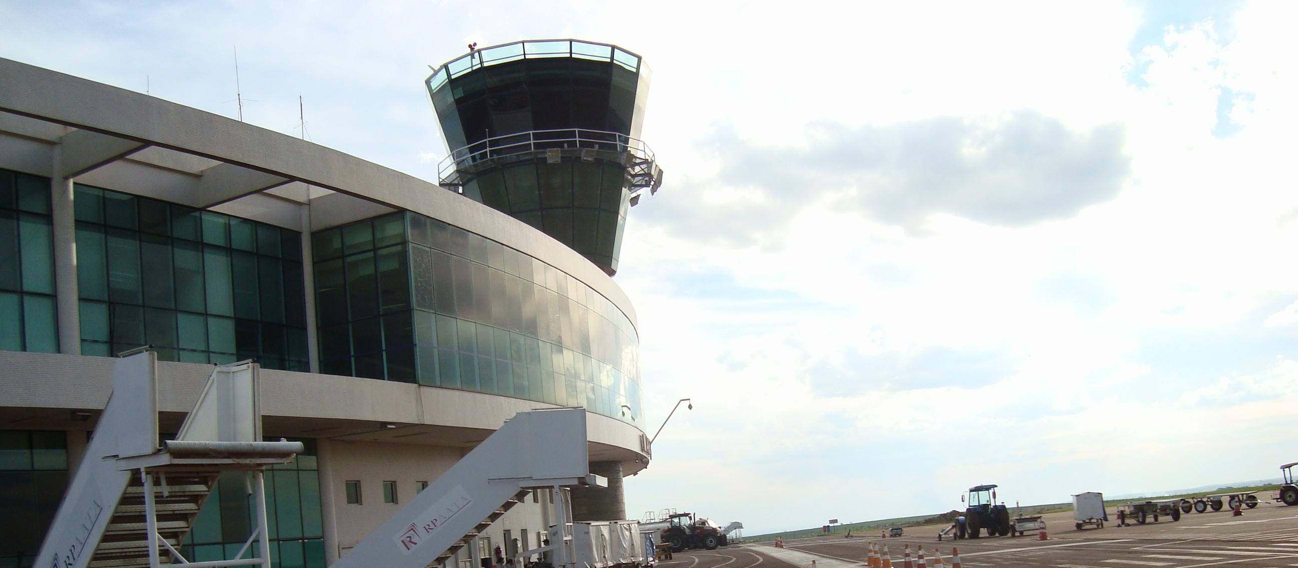 Prefeitura abre licitação para contratar empresa para torre de controle do aeroporto