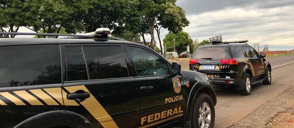 PF cumpre mandados em Umuarama numa investigação de descaminho