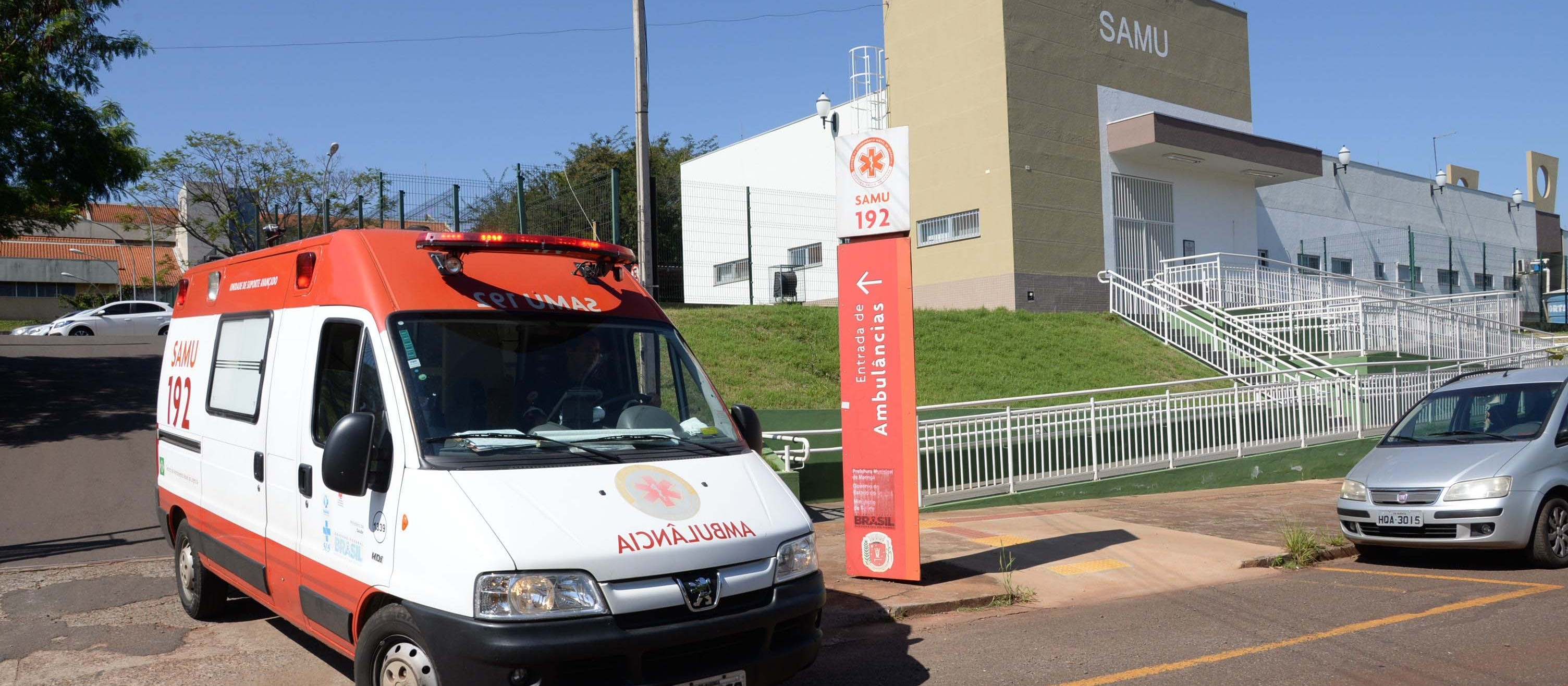 Samu Regional fica sem telefone após furto da fiação elétrica