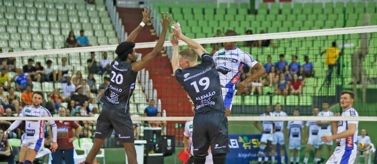Denk Maringá estreia com vitória na Superliga 2019/2020