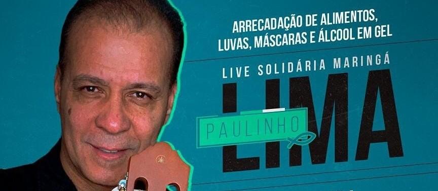 Live solidária vai arrecadar doações para entidades de Maringá