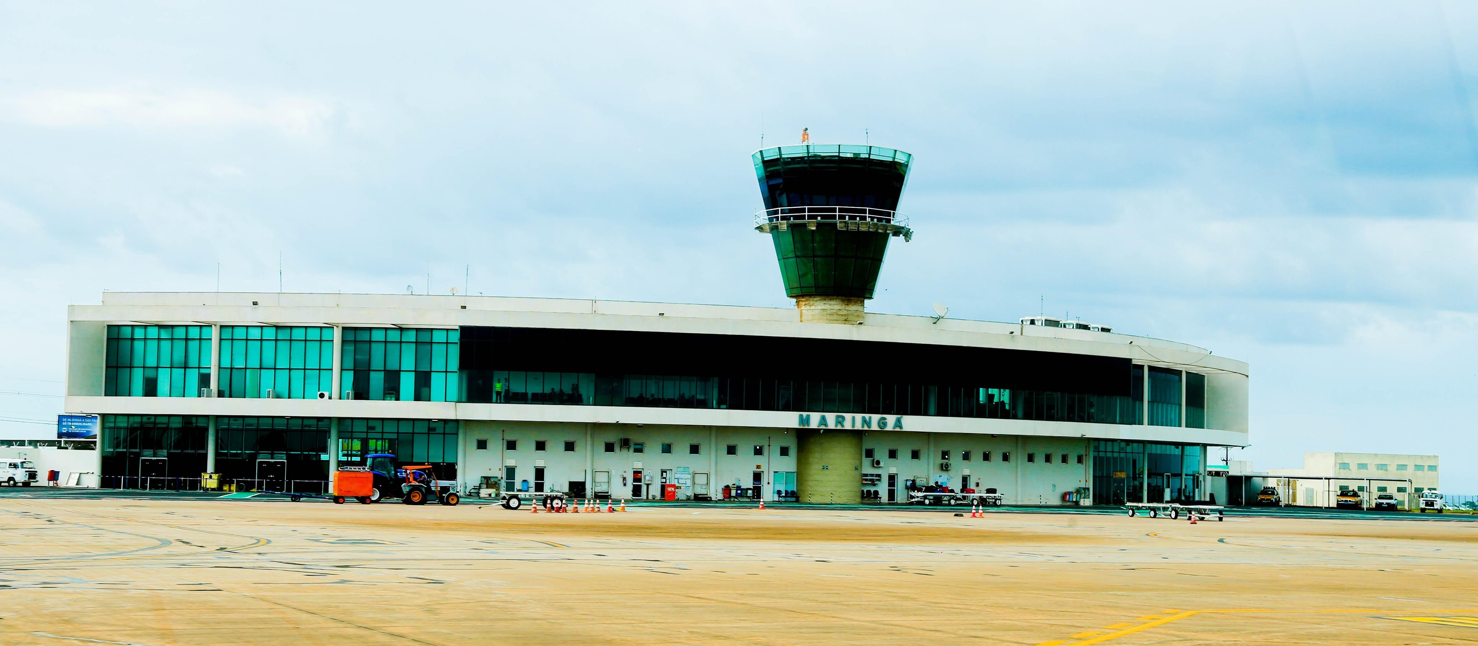 Aeroporto tenta trazer terceira companhia aérea para Maringá