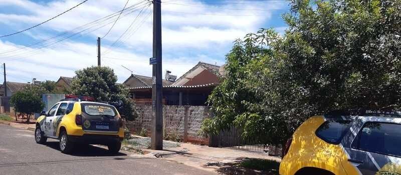 Jovem de 24 anos é socorrido após levar um tiro em distrito de Maringá