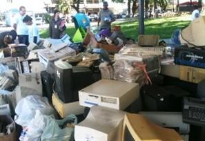 15 toneladas de resíduos eletrônicos devem ser recolhidas em ponto de coleta na Praça Raposo Tavares nesta sexta-feira
