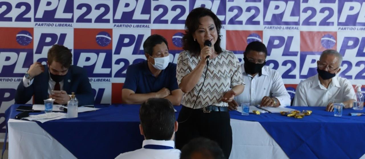 Akemi Nishimori é a candidata a prefeita pelo PL