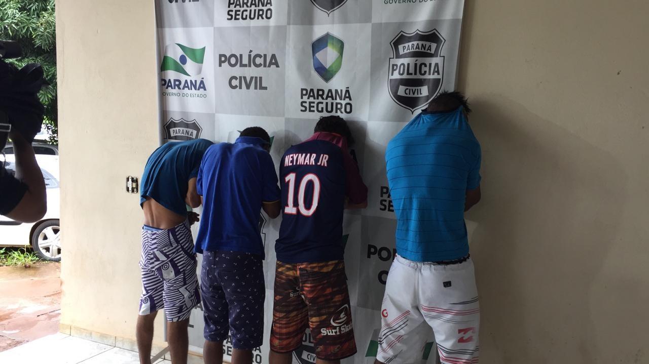 Polícia prende suspeitos de roubo a uma faculdade