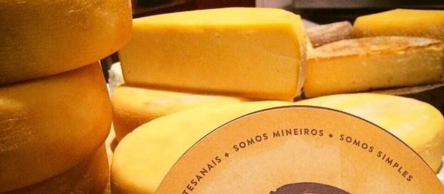 Variedade de queijos brasileiros