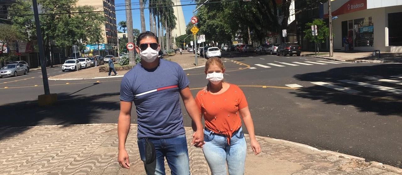 Máscaras ajudam a cortar a cadeia de transmissão do coronavírus