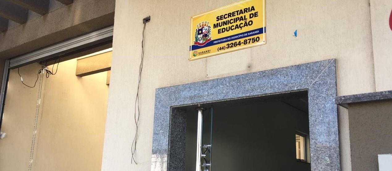 Secretaria de Educação de Sarandi é arrombada