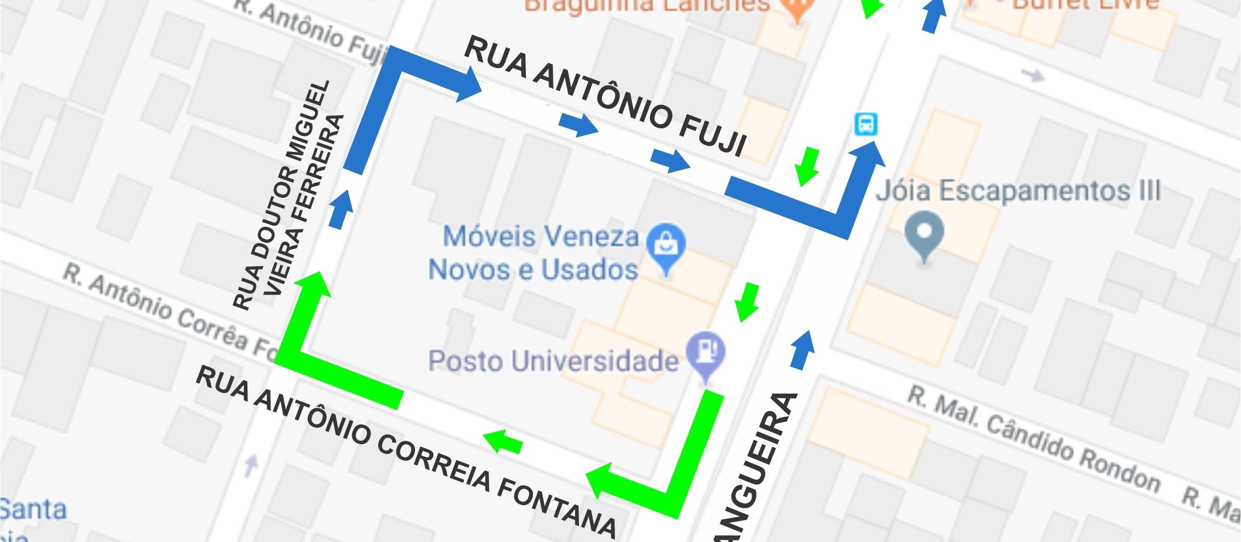 Avenida Morangueira terá opção de retorno