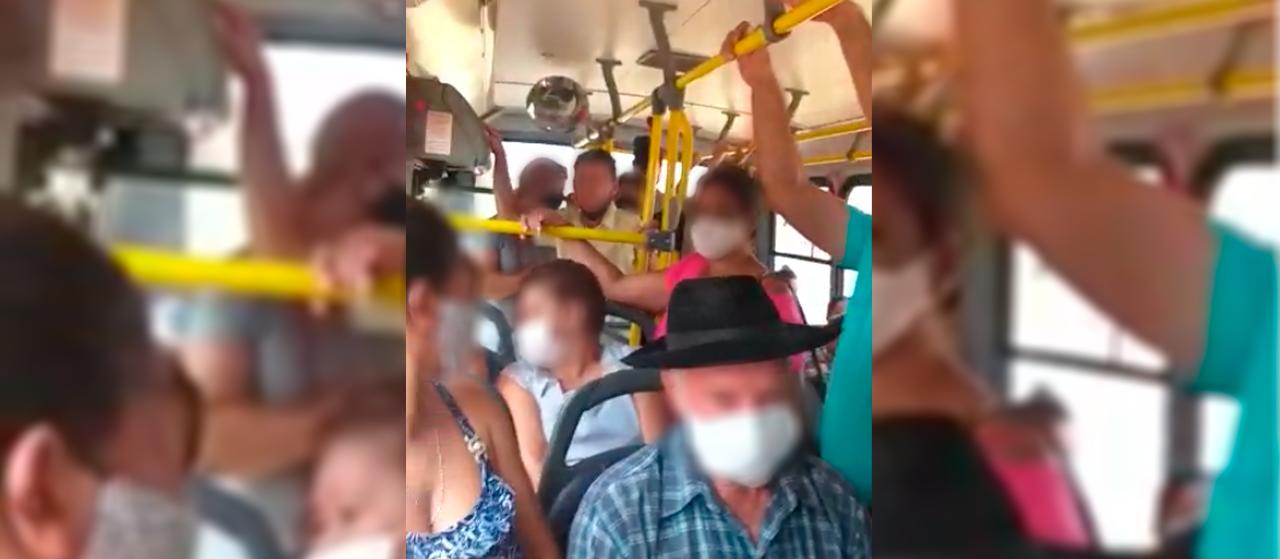 Ouvinte denuncia lotação em ônibus do transporte intermunicipal