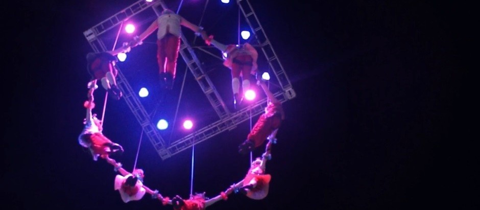 Espetáculo com balé aéreo é atração nesse sábado (7) em Maringá