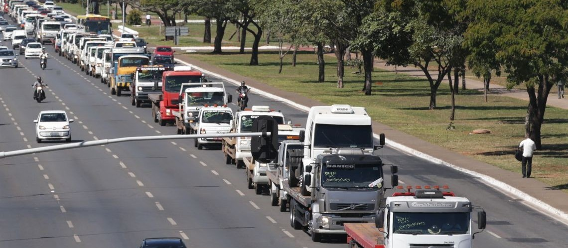 Gilson Aguiar: 'caminhoneiros, sinal de força'