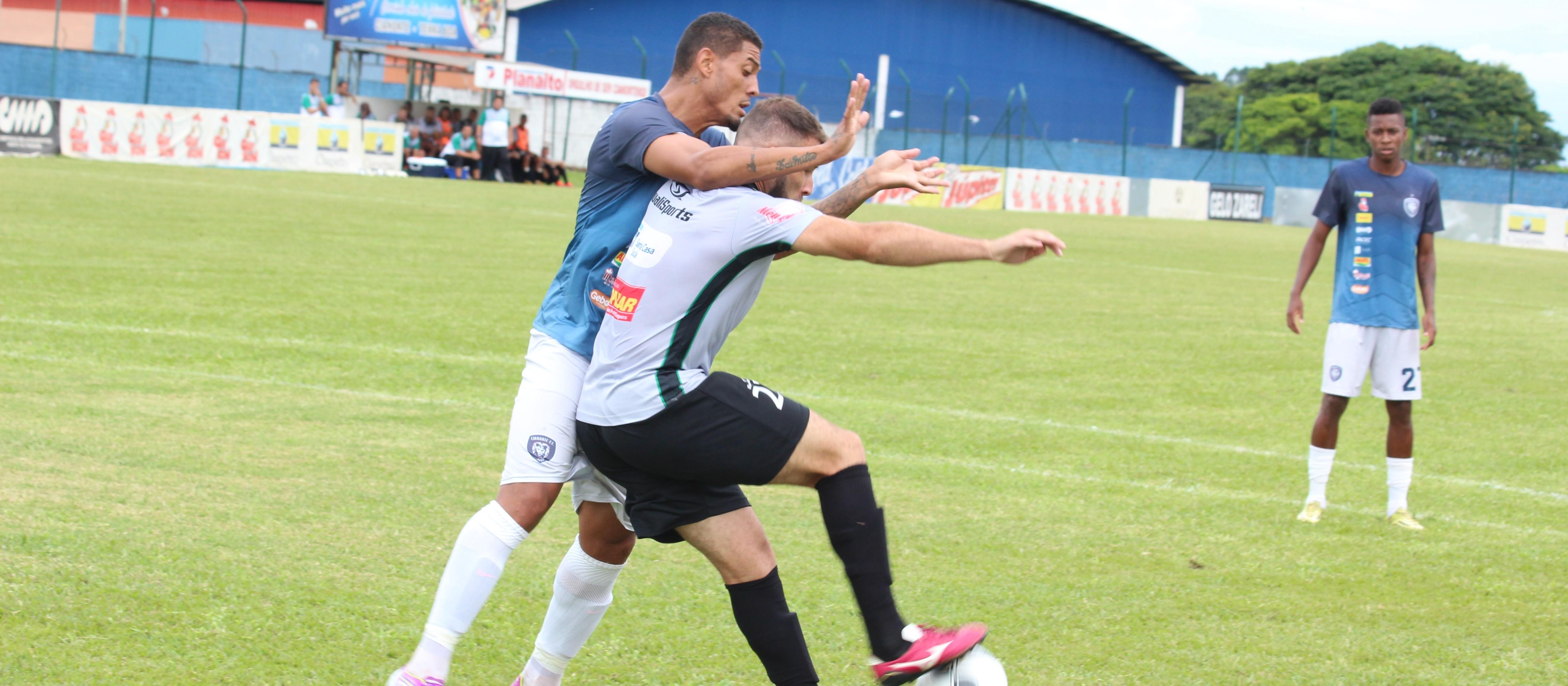 Maringá FC e Cianorte empatam em jogo-treino