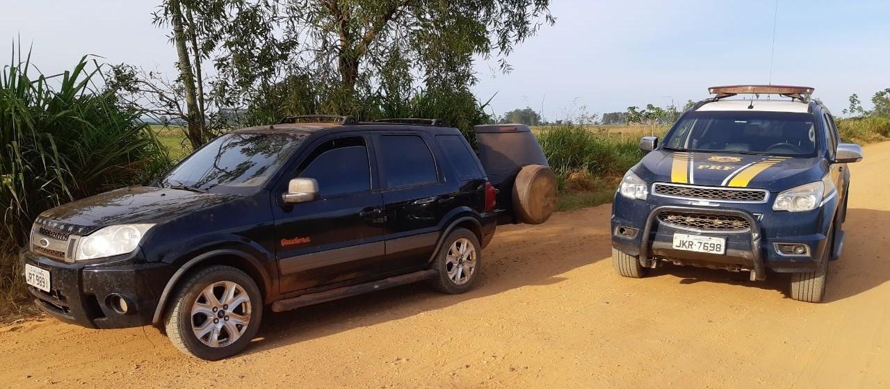 PRF apreende 145 quilos de maconha em Alto Paraíso