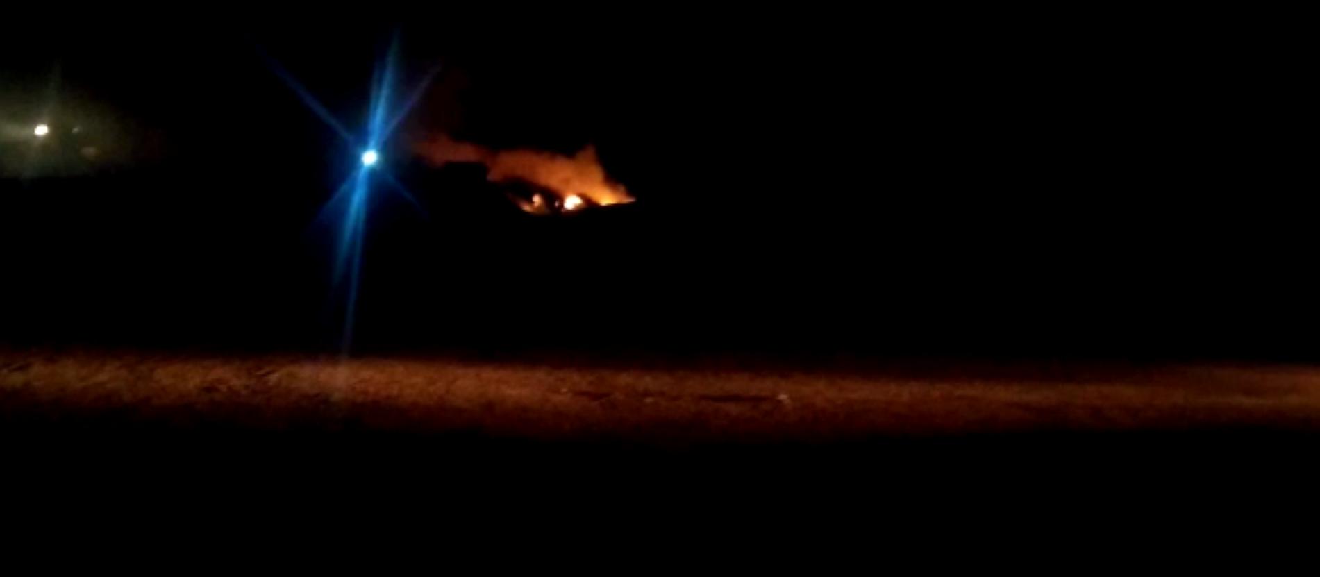 Incêndio em lixão de Itambé mobiliza bombeiros
