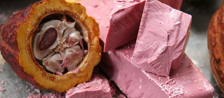 Chocolate cor-de-rosa é tendência para 2019