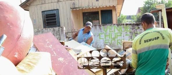 Neste fim de semana tem Bota Fora em dois bairros de Maringá