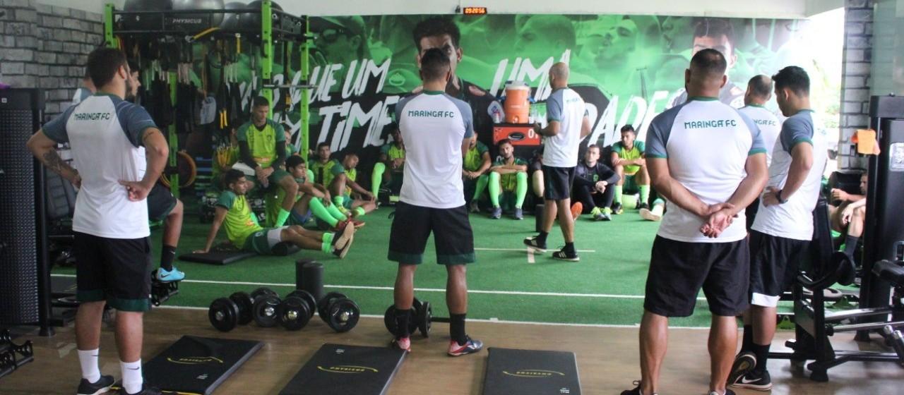 Maringá FC realiza três jogos-treinos antes de voltar ao Paranaense