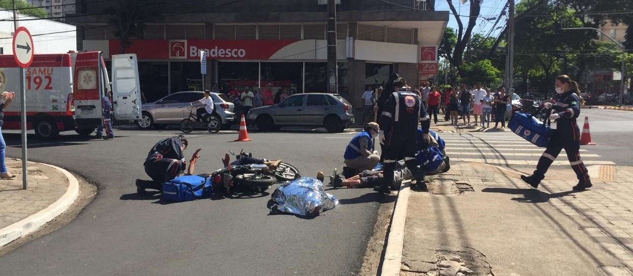 Simulação mostra consequências de um acidente de trânsito