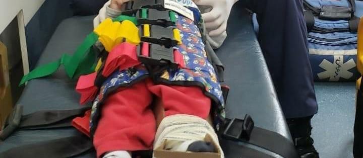 Bebê que foi vítima de tortura recebe alta do hospital em Maringá