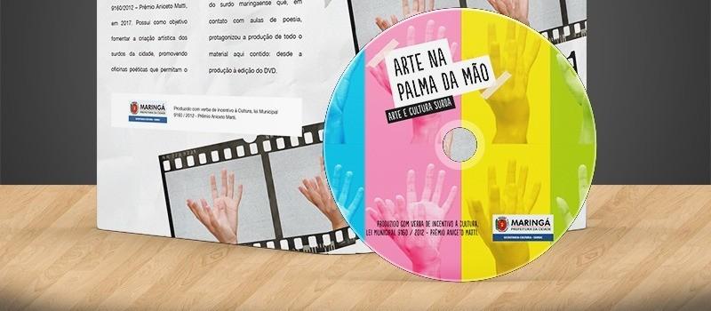 DVD de poesia surda será lançado nesse sábado (22) em Maringá