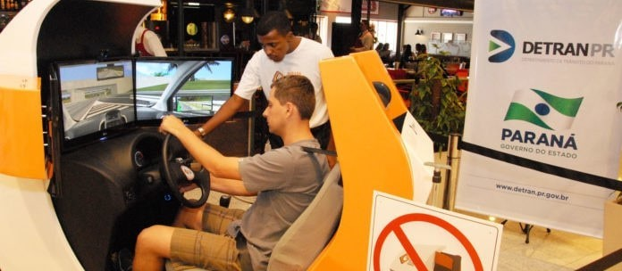 Uso facultativo de simulador de direção entra em vigor em 10 de setembro