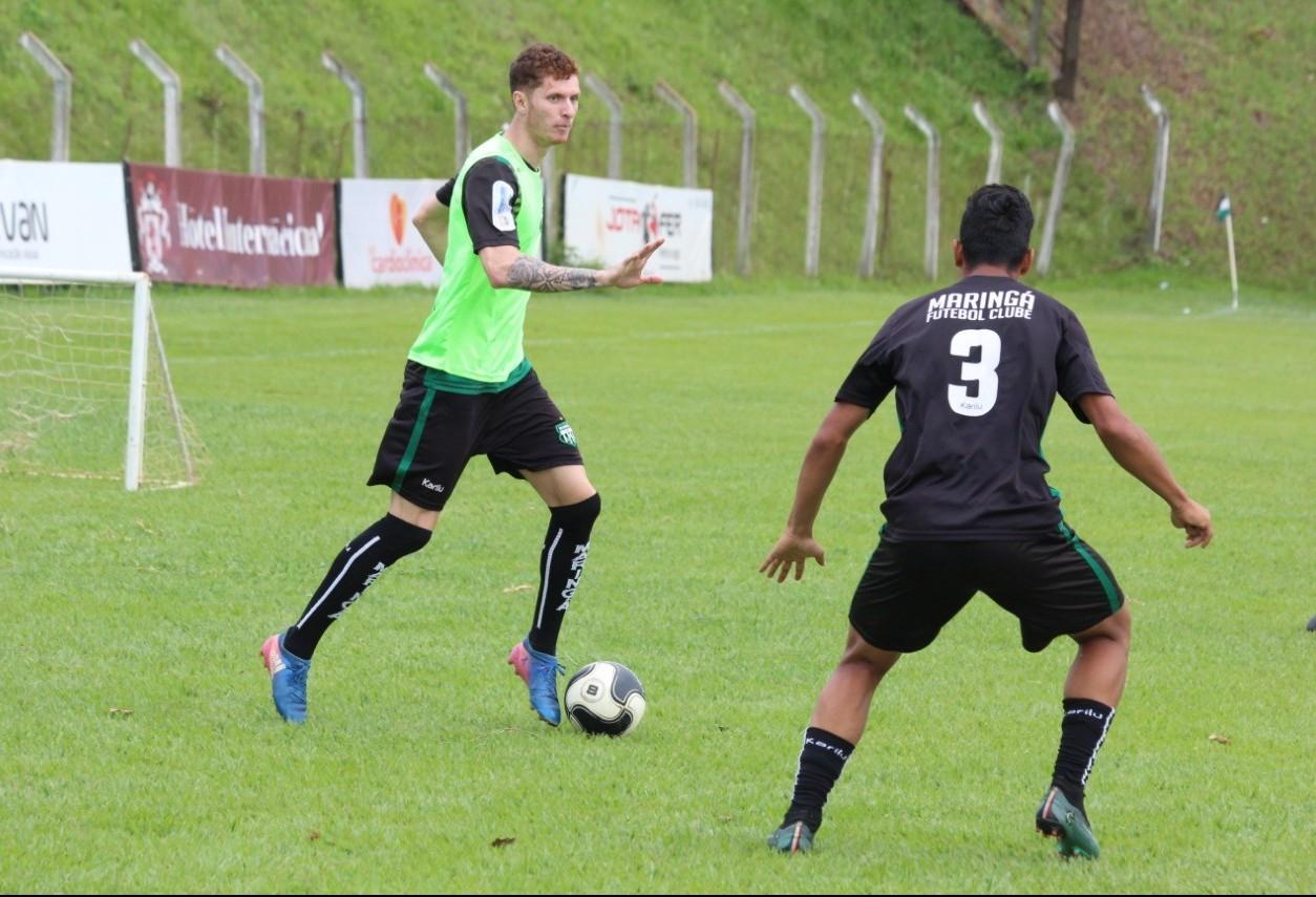 Foco do Maringá FC é na parte física