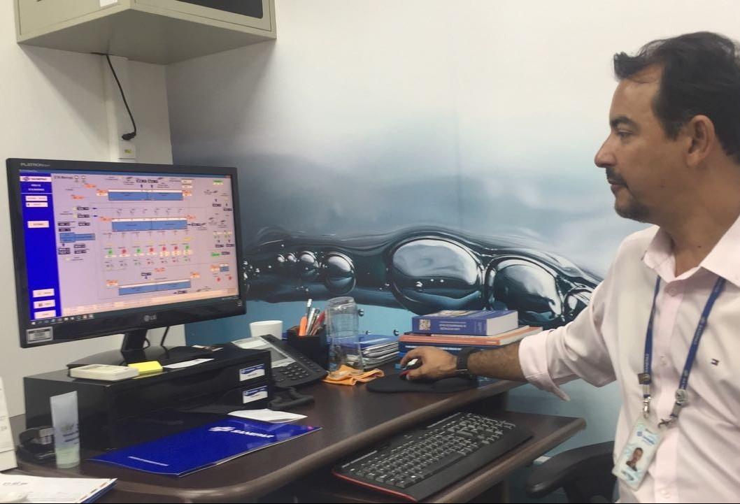 Programa monitora volume de chuva em tempo real