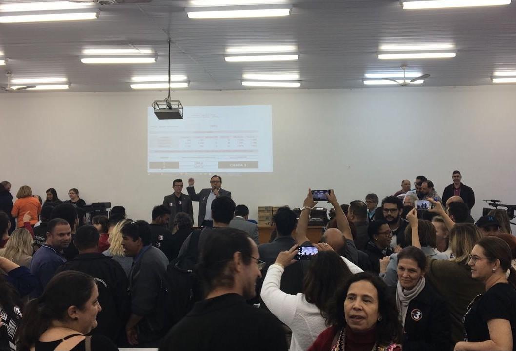 Julio Damasceno é eleito novo reitor