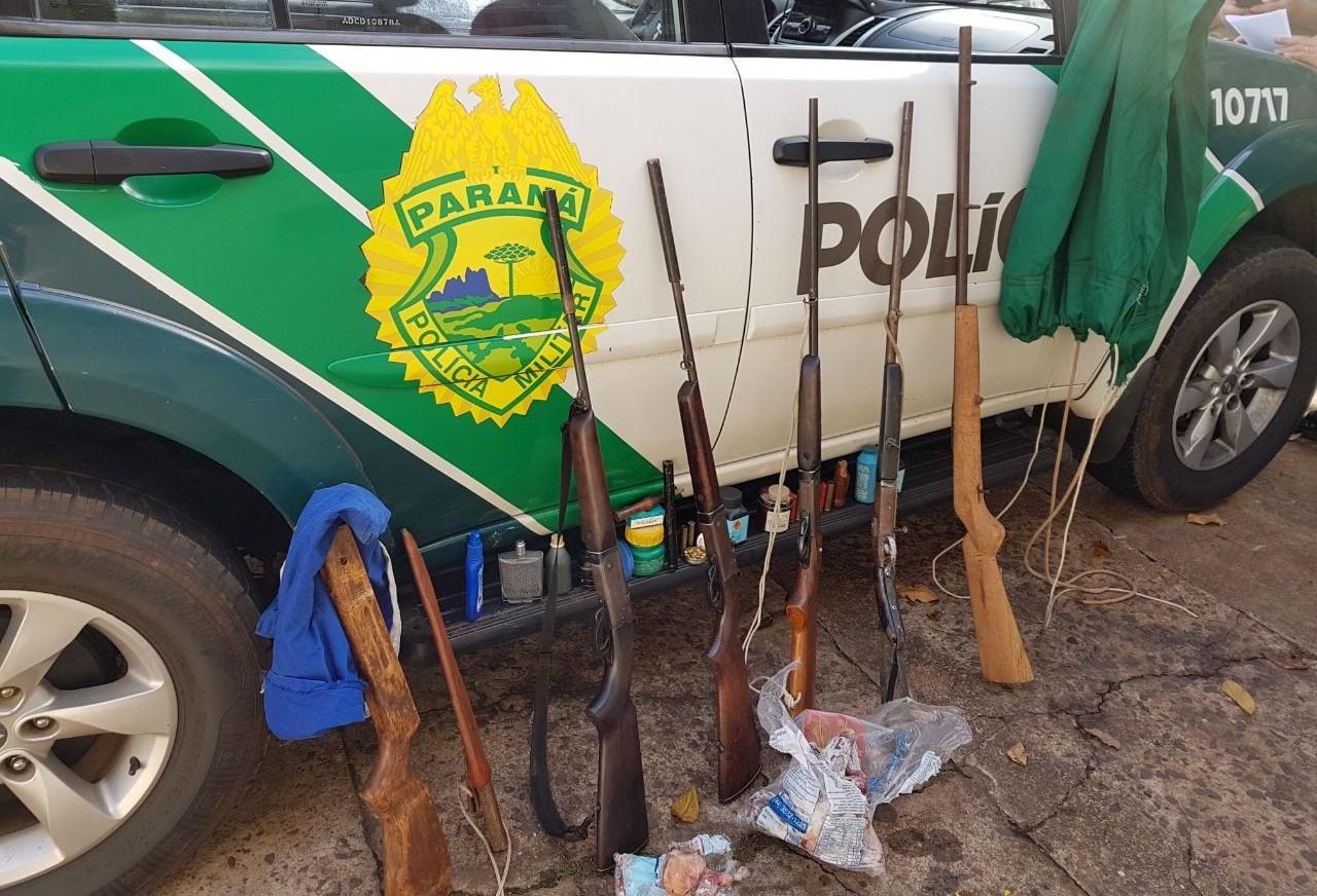 Polícia Ambiental prende três pessoas por caça ilegal e posse de armas