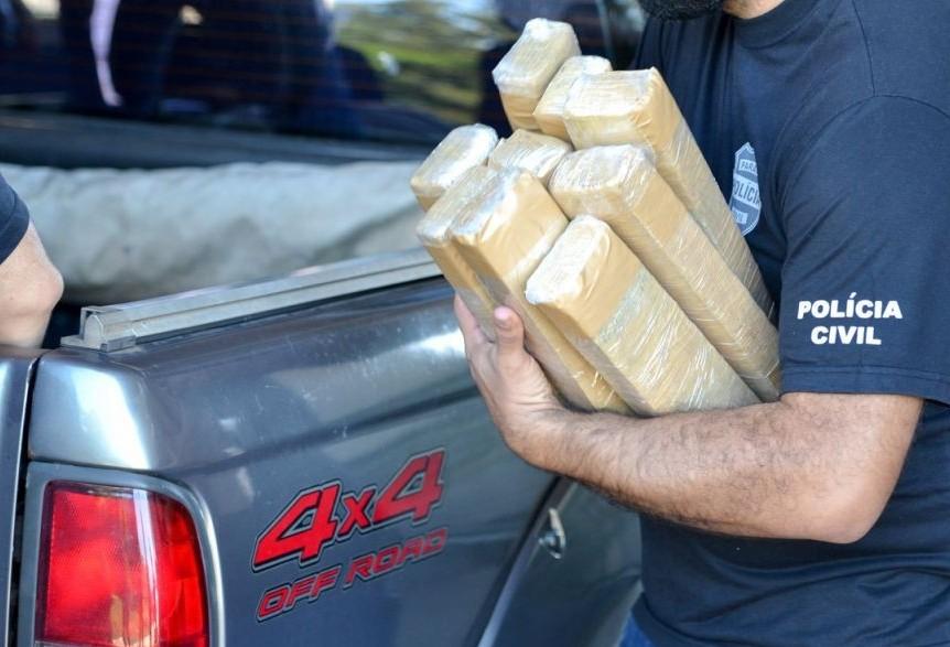 Mais de uma tonelada de drogas é incinerada em Umuarama