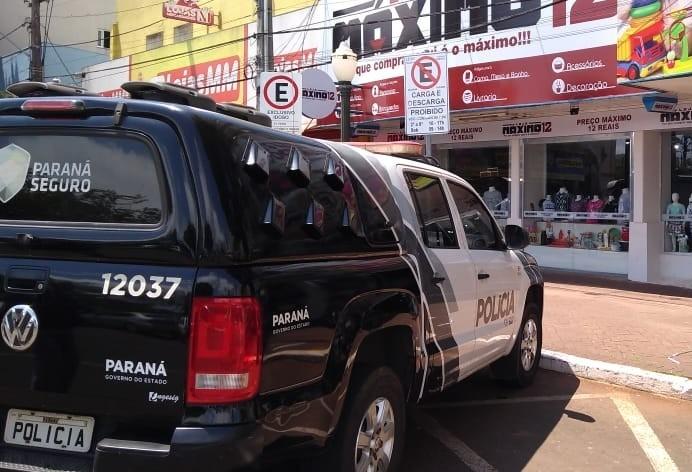Loja em Apucarana vendia produtos da China roubados