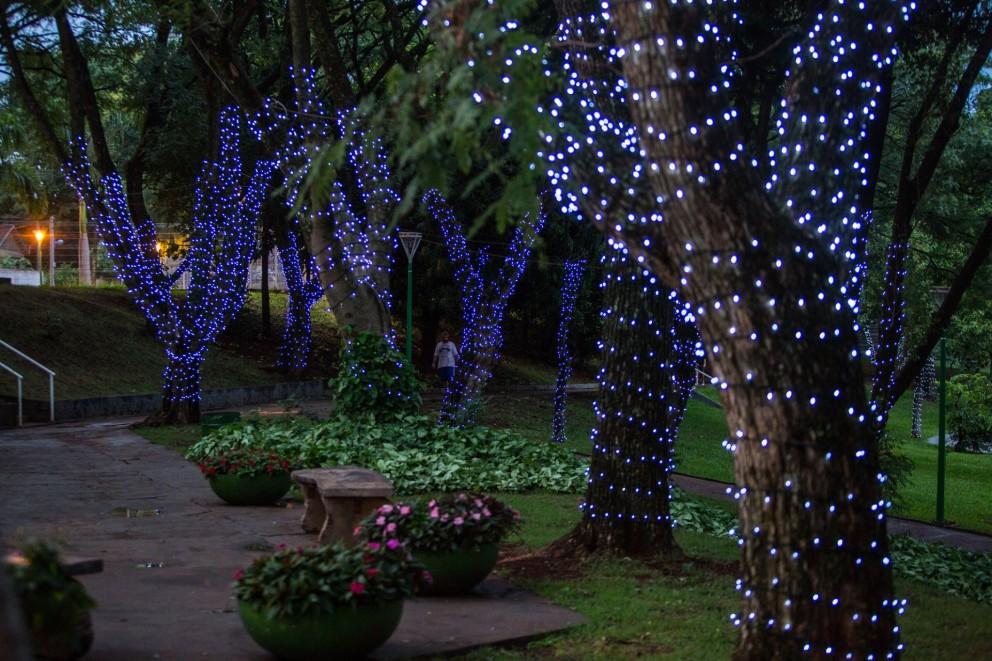 Bombeiros orientam sobre cuidados na instalação da iluminação natalina