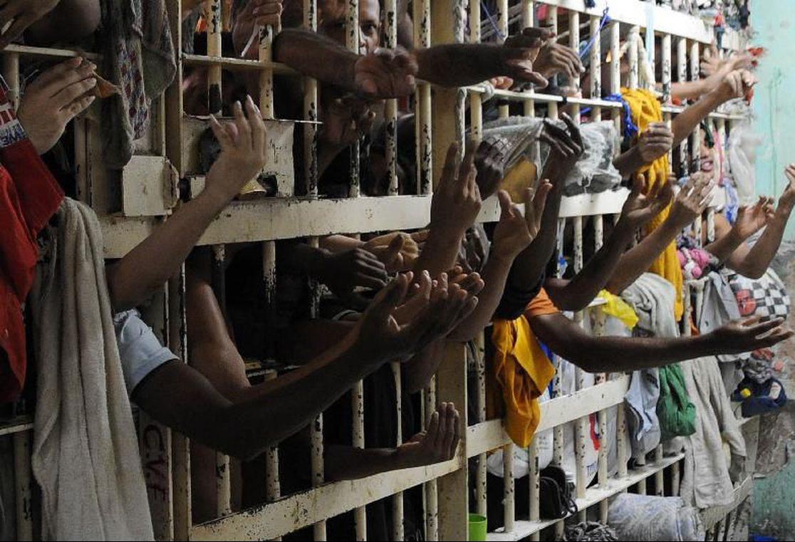 Cárcere tem presos misturados, de alta e baixa periculosidade