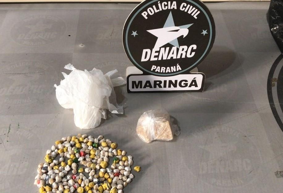 Denarc prende três traficantes