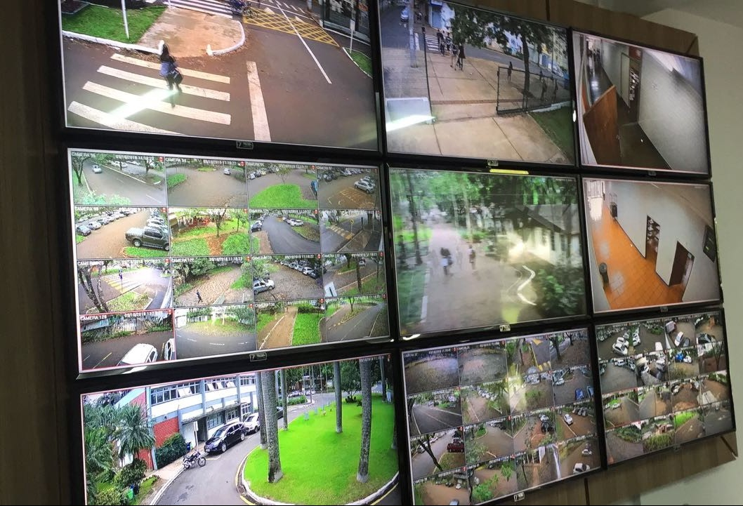Inaugurada central de monitoramento por câmeras
