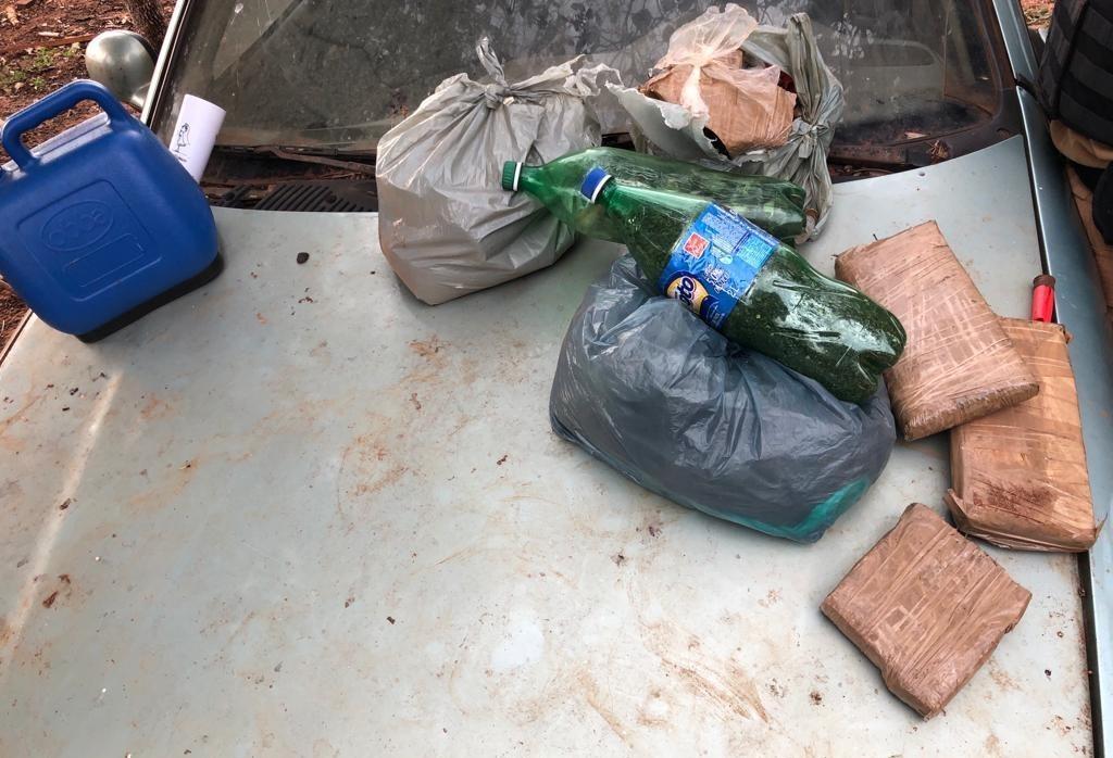 Denarc de Maringá apreende 8 quilos de maconha em sítio